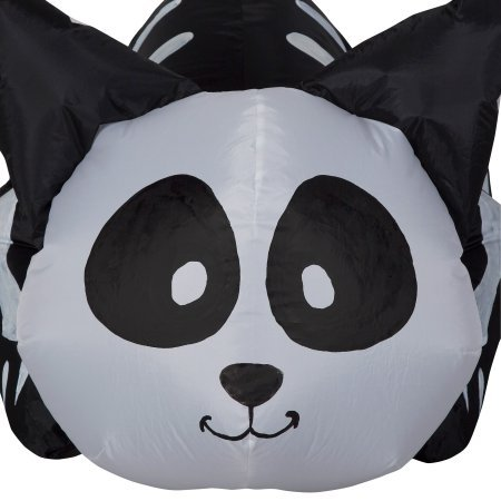 Airblown Inflatable Cute Halloween Decor 3.5 ft Tall by Gemmy Industries (Cute Cat Skeleton)