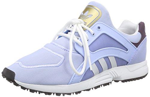 adidas Racer Lite W - Zapatillas de running para mujer Morado / Blanco / Negro