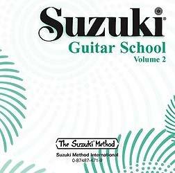 Suzuki Guitar School Volume 2 - Compact Disc (2 Disc Vol Compact)