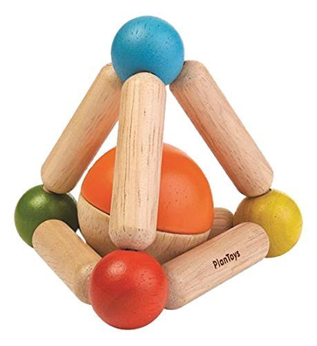Triangle Clutching Toy - PlanToys 5244 Triangle Clutching Baby Toy
