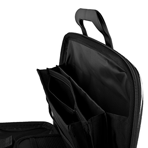SumacLife Cady Sky Blue Messenger Bag Carrying Case for AOC 16 Class USB Portable Monitor 15.6 I1659FWUX E1659FWU I1601FWUX