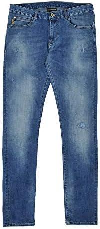 (エンポリオ アルマーニ) emporio armani J10モデル メンズ デニムパンツ ブルー系 [並行輸入品]