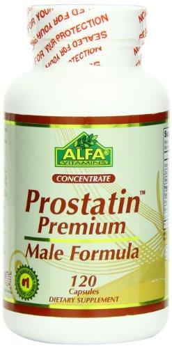 Alfa Vitmains Prostatin Premium Capsules, 120 Count
