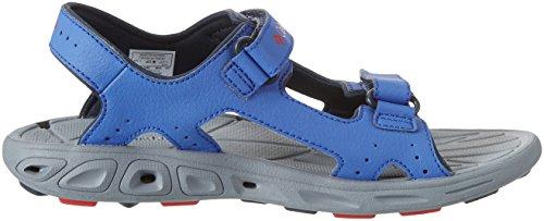 ColumbiaYouth Techsun Vent - sandalias de senderismo para chico Azul (Stormy Blue/Mountain Red 426)