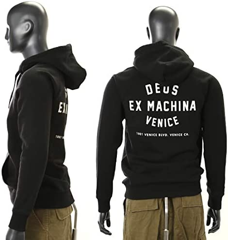 (デウス エクス マキナ) Deus Ex Machina メンズ フードパーカー VENICE ADDRESS HOODIE [T-DMW48675C]