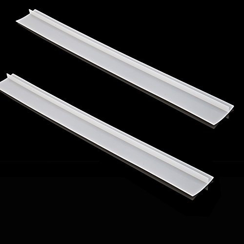 Take BONTEK 2-Pack Clear Stove Counter Gap Cover Food Grade Silicone Dish Washer Safe wholesale