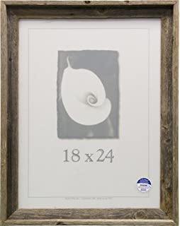 frame usa 17073 barnwood picture frames 18 x 24