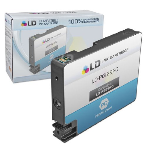 LD Compatible Ink Cartridge Replacement for Canon PGI-29PC (Photo Cyan)