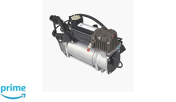 Bomba de compresor de suspensión de aire 7L0698007/7L0616007A: Amazon.es: Coche y moto