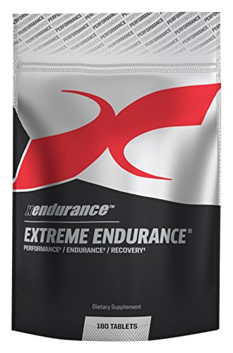 Xendurance Extreme Endurance | Reduces Lactic Acid & Muscle Soreness | 180 Tablets