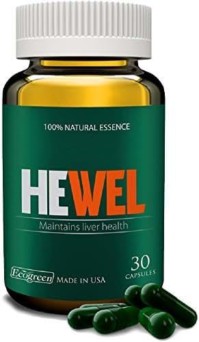 HEWEL x 2 bottles - Maintains Liver Health - 100% Natural Essence - St Paul Brand - USA