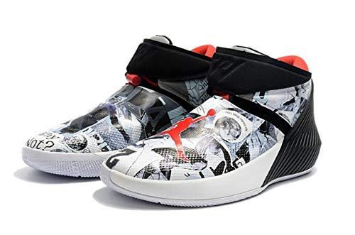 1d834eeb03a3bf Under Armour Men s Classic Graffiti Russell Westbrook Jordan Why Not Zer0 1  Pfx Basketball Shoes A01041