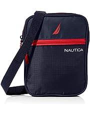 Nautica mens Small Crossbody Bag for Men Messenger Bags