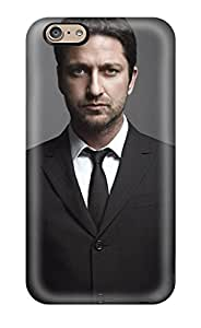 Rugged Skin Case Cover For Iphone 6- Eco-friendly Packaging(gerard Butler Celebrity People Celebrity)