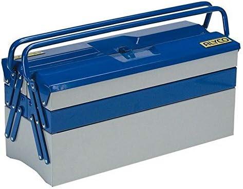 Alyco 192735 - Caja de herramientas metalica de 5 bandejas 500 x ...