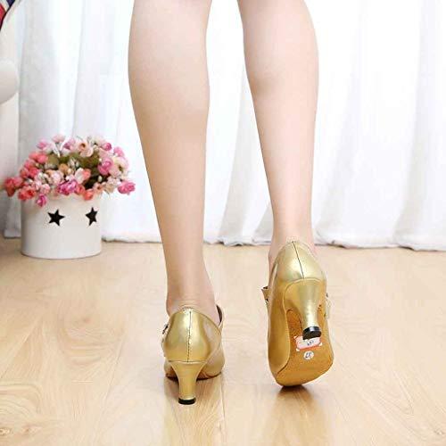 Enceintes Mode Princesse Argent Fond Rouleau Chaussures Plates Loisirs Simples Ballet Bouche Mou Strass Brillante Or Noir Peu Pois D'oeuf Moika Femmes Profonde Flats 4az66q