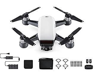 DJI Spark Palm Launch, Intelligent Fly More Combo (Alpine White) (B072C36ZVK) | Amazon Products