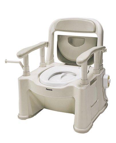 パナソニック ポータブルトイレ 座楽 背もたれ型SP あたたかタイプ VALAPTSP B001GZFAZS