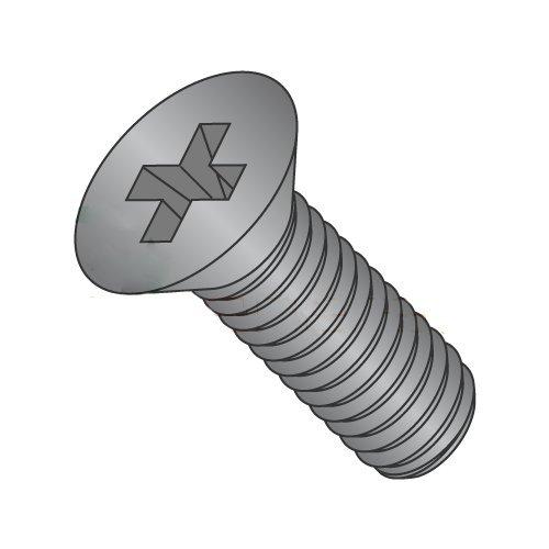 M2-0.4 x 5 mm Machine Screws/Phillips/Flat Head/Steel/Black Oxide/DIN965 (Carton: 4,000 pcs)