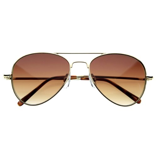 zeroUV - Small Classic Aviator Sunglasses 50mm Aviators - Size 50mm Sunglasses