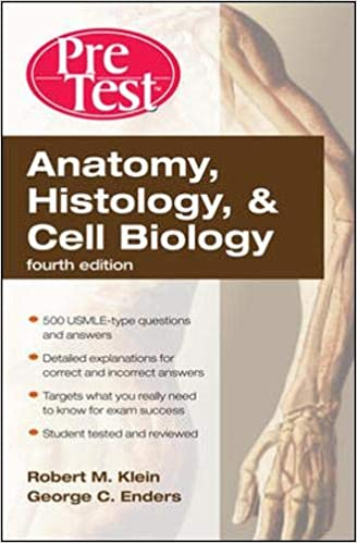 Kết quả hình ảnh cho Anatomy, Histology, and Cell Biology PreTest Self-Assessment and Review [3 ed.]