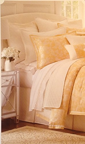 "Reba Mimosa European Sham 27"" x 27"" Harmony for the Home Bed"