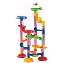 Fiaya 29/50/74/91 Piece DIY Marble Run Coaster Maze Toy