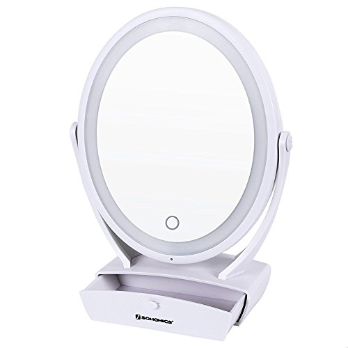 Songmics Two Side Magnifying Cosmetic UBBM01W