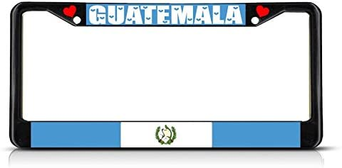 Guatemala Flag Vanity Metal Novelty License Plate Tag Sign