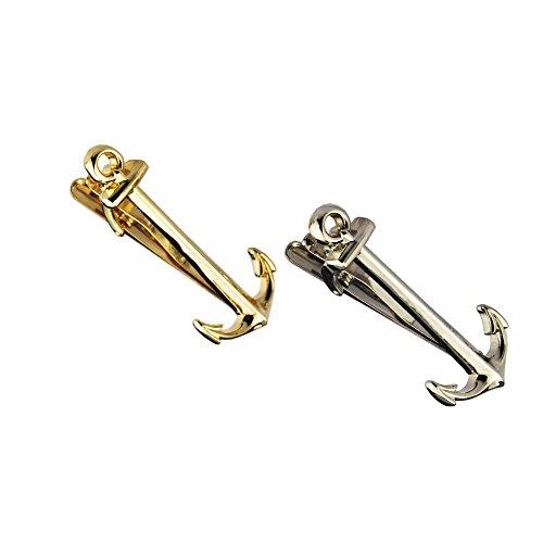 giftbox included Anchor tie clip