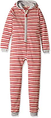 Burt's Bees Baby Holiday Family Jumpbees, Peppermint Stripe Jumpsuit, One-Piece Romper from Burt's Bees Baby