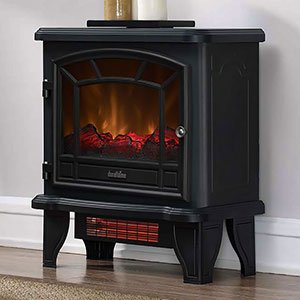 Duraflame Infrared Quartz Electric Stove Heater, Black - DFI-550-36