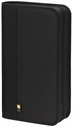 Case Logic BNW-48 Polyester CD/DVD Wallet 48 Capacity (Black) ()