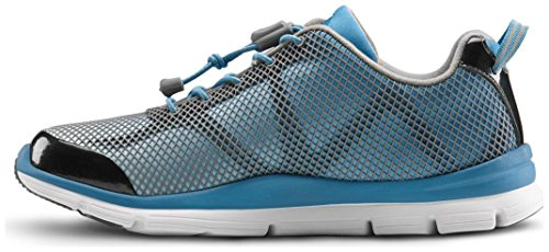 Dr. Comfort Women's Katy Turquoise Diabetic Athletic Shoes by Dr. Comfort (Image #3)