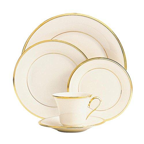 Eternal 5-piece Place Setting by Lenox , Dinnerware Set, 140190600, Bone China