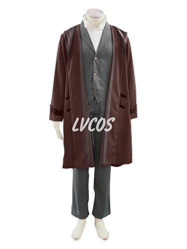 (Lvcos Fullmetal Alchemist Edward Costume 2nd Gen Men's Cosplay)