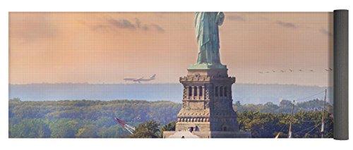 Pixels Yoga Mat w/ Bag ''Traveling Freedom'' by Pixels