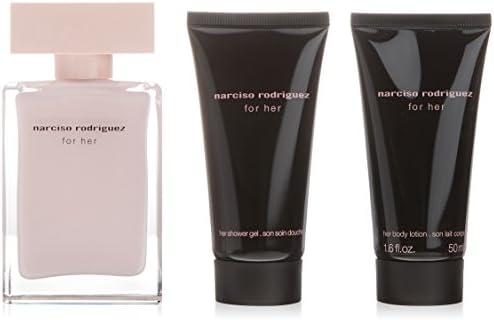 Narciso Rodríguez Narciso Rodriguez For Her - Agua de perfume, 3 piezas, 200 gr: Amazon.es: Belleza