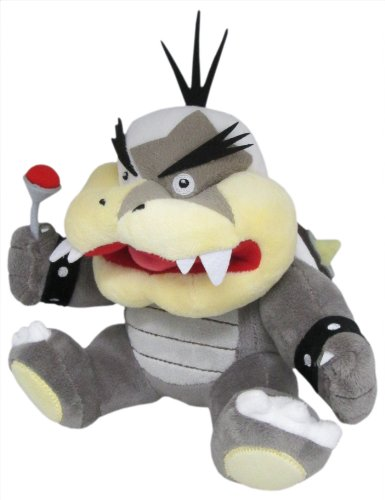 Little Buddy Super Mario Series Morton Koopa Jr. 7.5'' Plush by Little Buddy