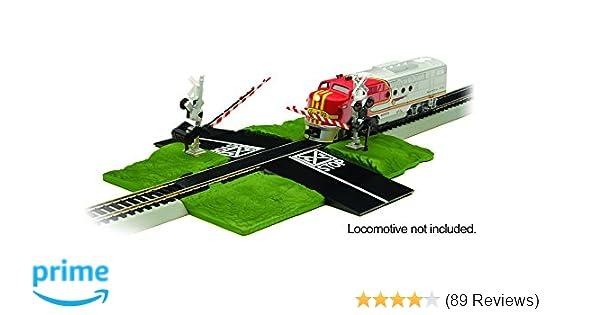 Amazon com: Bachmann Trains Snap - Fit E - Z Track Crossing Gate â