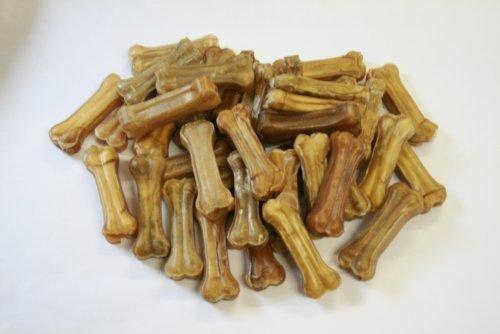 40 leckere BONTOY Kauknochen 8 cm - 1000 g