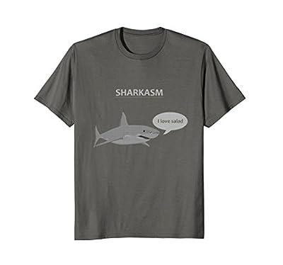 Funny Sharkasm Shark T-Shirt Men's/Women's/Kid's Sizes
