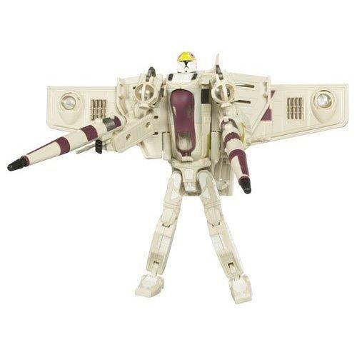 Star Wars Clone Wars Gunship (Star Wars Clone Wars Transformers Crossovers Clone Pilot to Republic Gunship)