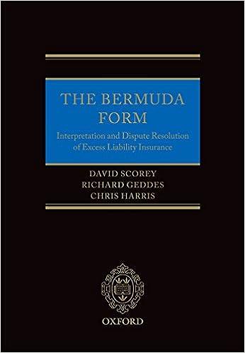 The Bermuda Form Interpretation And Dispute Resolution Of Excess