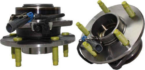 Detroit Axle 513189 Wheel Bearing Hub Assembly Front Driver and Passenger Side 2-PC Set