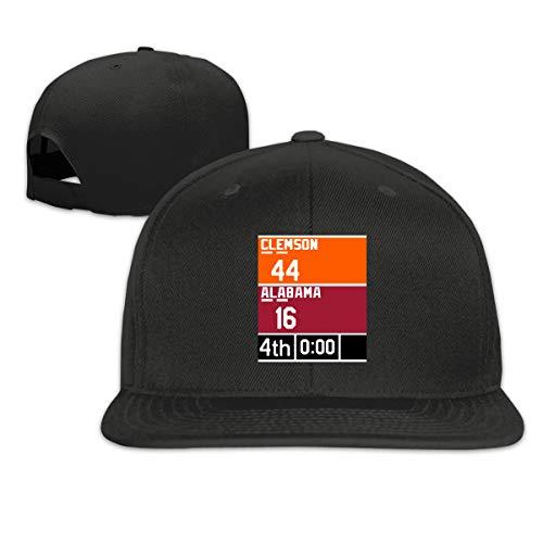 - Moore Me Adjustable Baseball Cap Orange Clemson Championship Scoreboard Cool Snapback Hats