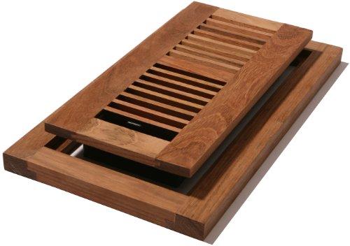Decor Grates WLFC310-U 3-Inch by 10-Inch Wood Flushmount Floor Register, Unfinished Cherry