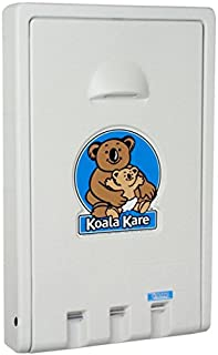 product image for Koala Kare KB101-05 Vertical Wall Mounted Baby Changing Station, White Granite