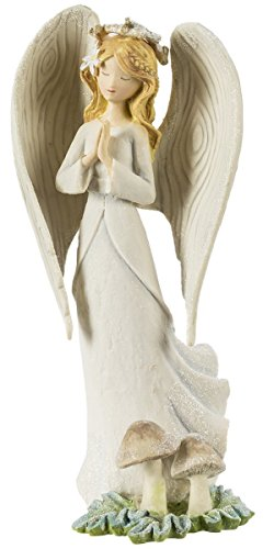 White Angel Resin Figurine – 7 Inches