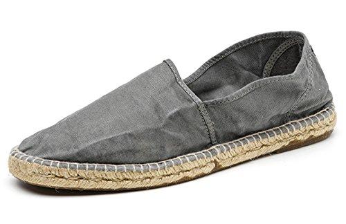 Natural World Eco Herren Canvas Sneaker Sneakers Turnschuhe Leinenschuhe aus Jute